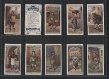 Cigarette cards Cries of London, London Street Trader